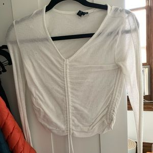 Urban Outfitters Scrunch Long Sleeve Top